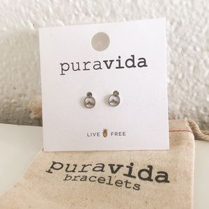 🍁 Pura Vida Sierra Stud Earrings 🍁